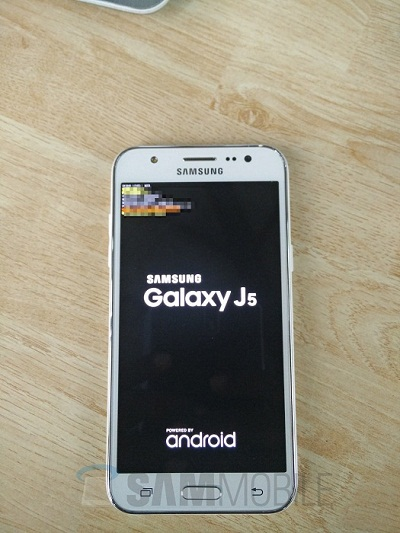 Live Images of Samsung Galaxy J5 Leak Revealing Possible Design