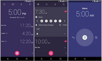 Google Clock app makes its way into the Play Store