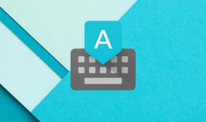 Google Keyboard v4.1 Lets You Sync Your Dictionary Across Devices, Removes Some Features