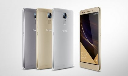Huawei Honor 7 with metal build and 20 MP phase detection snapper goes official