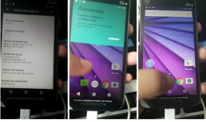 Moto G 3rd Gen. (2015) Specs, Pictures and Video leaked