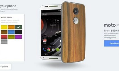 Motorola Likely to Launch Moto Maker in India Today