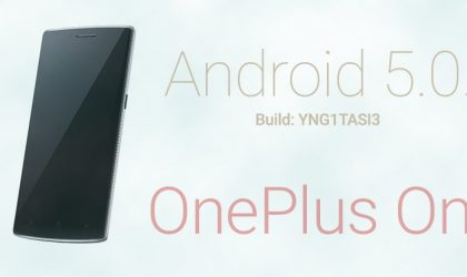 Download OnePlus One YNG1TASI3 update, OTA and Full ROM (Not CM12.1/Android 5.1)