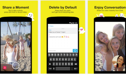 Snapchat Lets You Switch the Camera When Recording a Snap