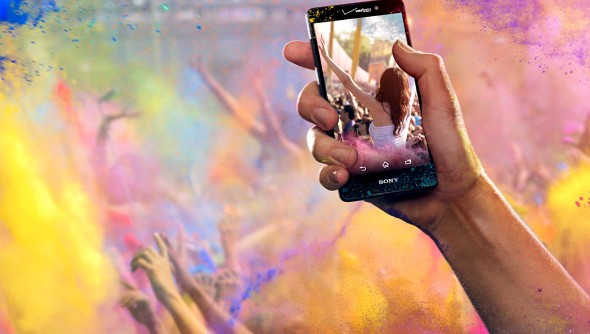 sony xperia z4v launch
