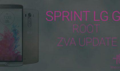 Root Sprint LG G3 ZVA update with One Click Root (LS990ZVA)