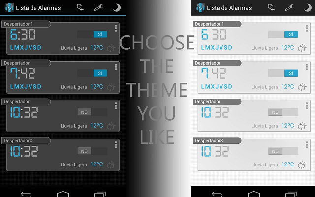 Try Turbo Alarm for Android, a feature rich alarm app