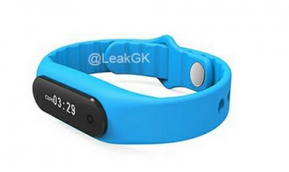 Xiaomi Mi Band 2 render hits the web showing touch screen display