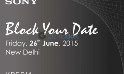 Sony sends invites for June 26 event in India, is Xperia Z3+ on the cards?