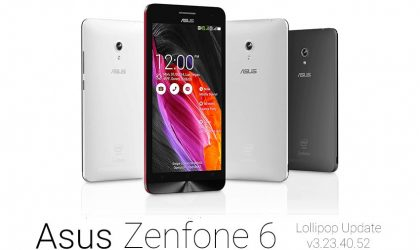How to Update Asus Zenfone 6 to Android 5.0 Lollipop update V3.23.40.52 yourself