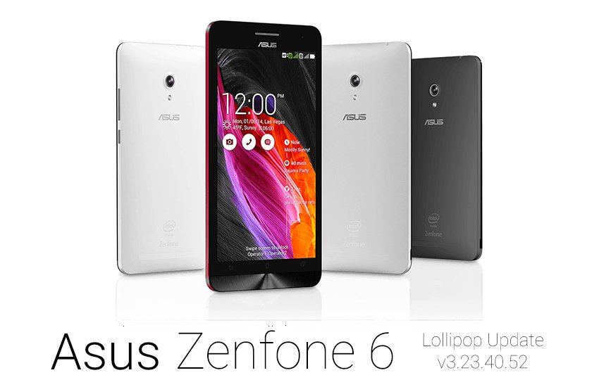 How to Update Asus Zenfone 6 to Android 5.0 Lollipop ...