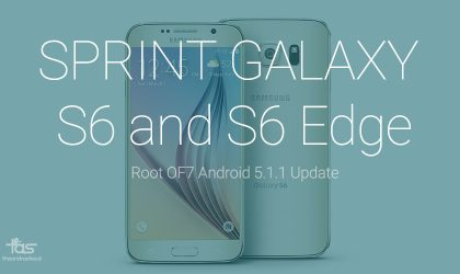 Root 5.1.1 update on Sprint Galaxy S6 and S6 Edge!