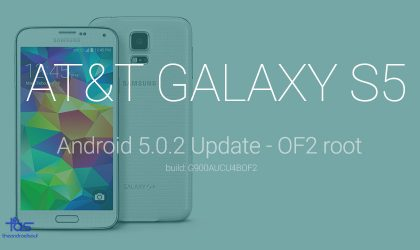 Download Rooted G900AUCU4BOF2 Update for AT&T Galaxy S5