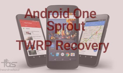 TWRP Recovery v2.8.7.0 for Android One Sprout devices!