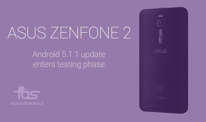 Zenfone 2 Android 5.1 update release is close as Asus support confirms it's under final testing!