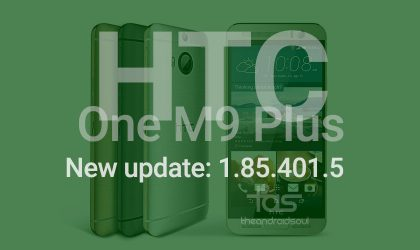 HTC One M9+ is in for new OTA update, version 1.85.401.5