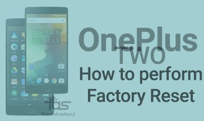How to Restore or Factory Reset OnePlus 2