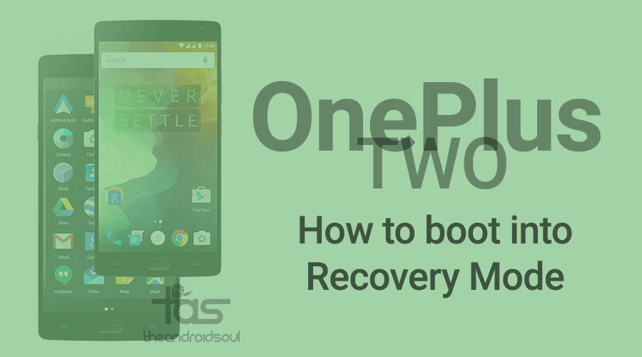 how to cancel recovery mode