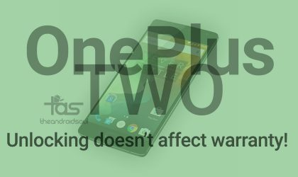 OnePlus Two Warranty won't be void upon unlocking bootloader or rooting