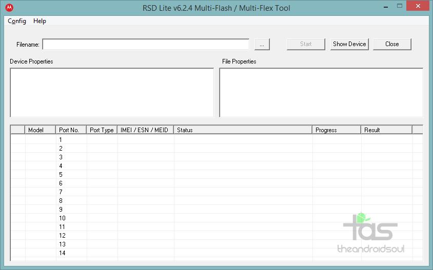 RSDLite-Firmware-Flash-Tool