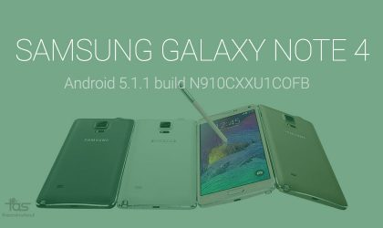 Samsung Galaxy Note 4 Android 5.1.1 update release date is near as firmware leaks (build N910CXXU1COFB)!
