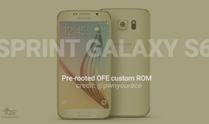 Pre-rooted OFE Update for Sprint Galaxy S6 now available via custom ROM