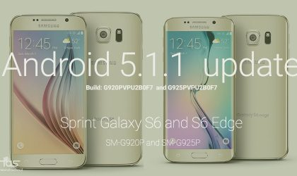 Download Sprint Galaxy S6 and S6 Edge 5.1.1 update in Odin TAR format to fix OTA fail