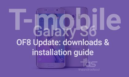 T-Mobile Galaxy S6 Edge Update G925TUVU2COF8: Download links and installation guide