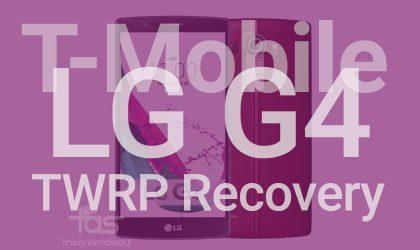 T-Mobile LG G4 TWRP Recoveryv2.8.7.0: Downloads and installation guide