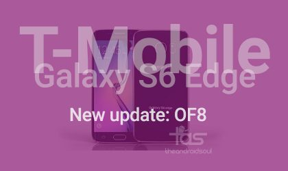 New OTA update rolling out for T-Mobile Galaxy S6 Edge, build OF8 [Update: Galaxy S6 too!]