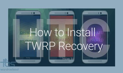 How to Install TWRP Recovery using Fastboot mode on HTC devices