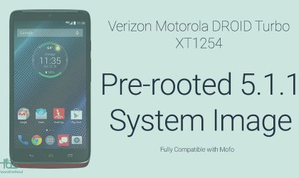 Update Droid Turbo to Android 5.1.1 with Mofo Root retained, yes it's possible now!