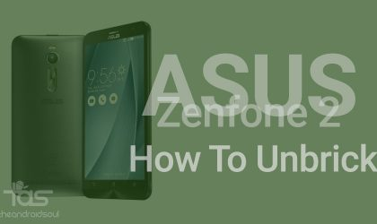 How to Unbrick Asus Zenfone 2, works on OTA fail too!