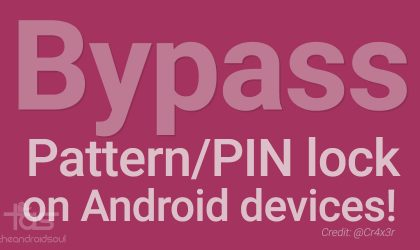 Disable or Bypass Password/PIN/Pattern Lock on Android devices with AntiLock