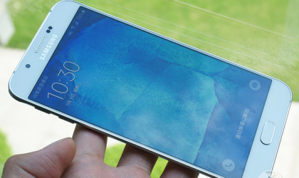 New Galaxy A8 photos reveal bezel-free display, thin profile and fingerprint scanner