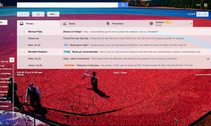 Gmail update will bring new themes and emoji to the web interface