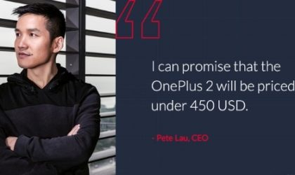 OnePlus 2 confirmed to be priced under $450