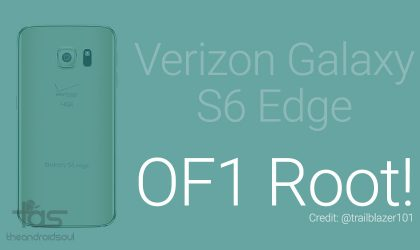 Keep root on OF1 update for Verizon Galaxy S6 Edge using this method!