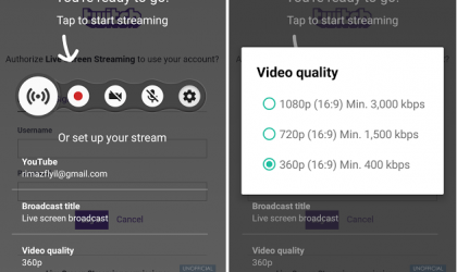 Live screen streaming app from Sony lets you broadcast from your Xperia device to Twitch and YouTube