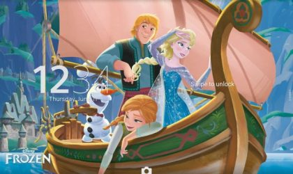 Sony releases premium Frozen Kristoff Xperia theme