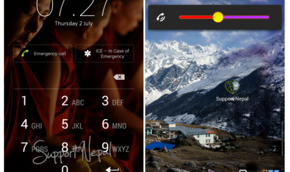 Sony's Support Nepal Theme aimed to help victims of devastating earthquake