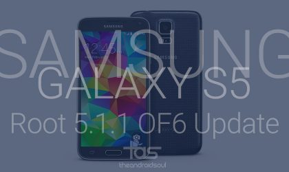 Install TWRP and Root 5.1.1 update on T-Mobile Galaxy S5
