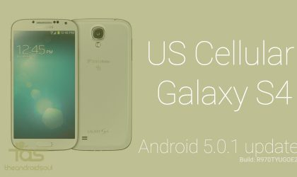 How to Install US Cellular Galaxy S4 Lollipop update [Firmware Download]