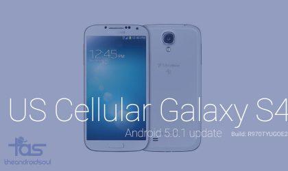 US Cellular Galaxy S4 finally gets Lollipop update, R970TYUGOE2!