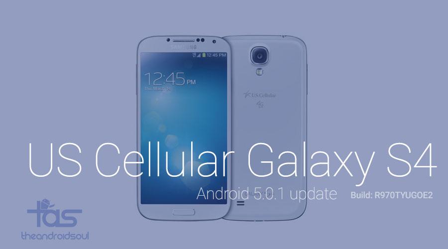US Cellular Galaxy S4 finally gets Lollipop update ...