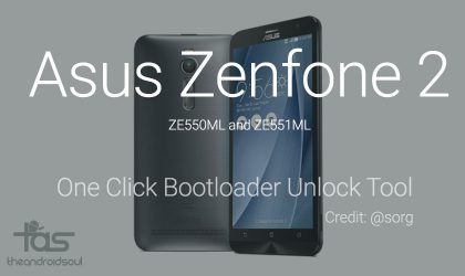 How to Zenfone 2 Bootloader in one click without Root