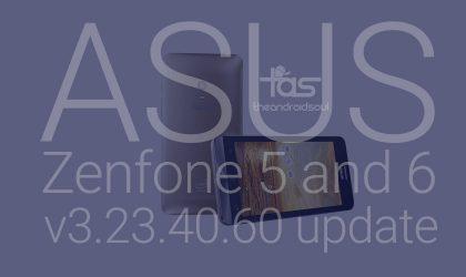 Asus Zenfone 5 and Zenfone 6 receive new Android 5.0 Lollipop update, v3.23.40.60