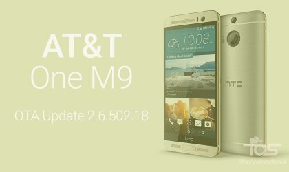 Download AT&T One M9 OTA update 2.6.502.18 [Zip]