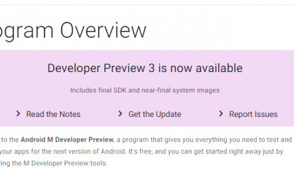 Android Developer Preview 3 available for download as build MPA44G