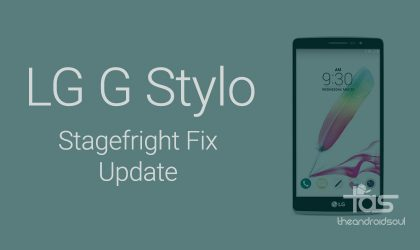 New Android 5.1.1 update for LG G Stylo fixes Stagefright bug, and it's mandatory (version H63110i)